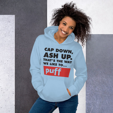 MAD - CAP DOWN/ASH UP - Hoodie