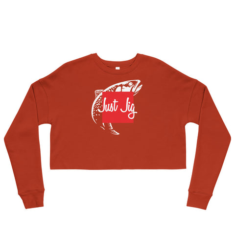 Single Fish Sweatshirt (Crop)