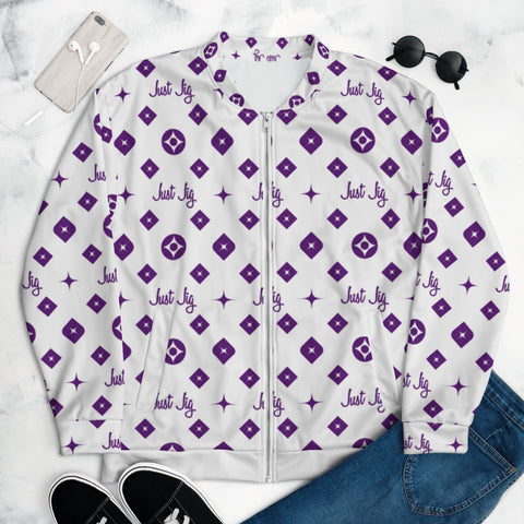 Just Jig - Bomber Jacket (Purple)(mens)