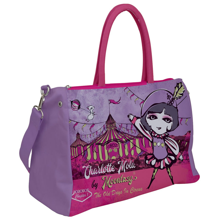 Circus and Charlotte Duffel Travel Bag
