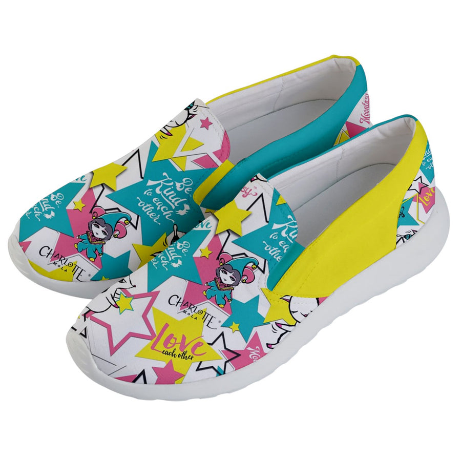 Star Moonkii Lightweight Slip Ons (Women)