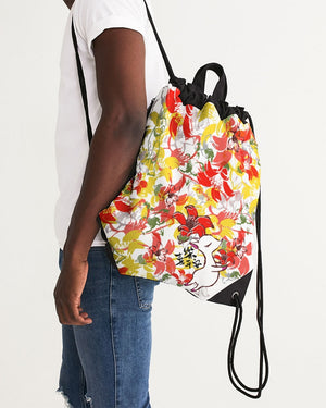Moonkii's Heroflower Canvas Drawstring Bag