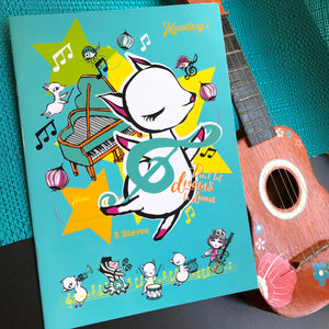 Paper Notebook + Music Book + Folder - Combo A 筆記簿+音樂簿+文件夾套裝 A