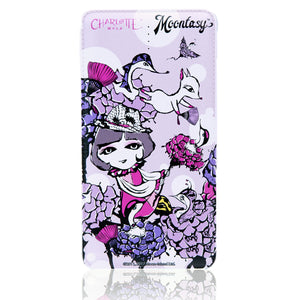 Power Bank (10,000mAh) - Charlotte with Rosebirds 皮紋行動電源(10,000mAh) - 莎樂與玫瑰鳥