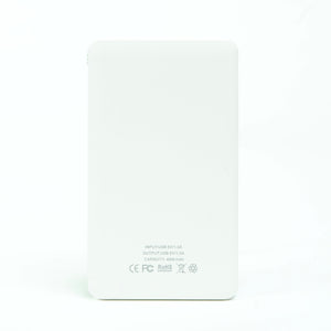 Power Bank (4000mAh) - Friendship 皮紋行動電源(4000mAh) - 風雨同路