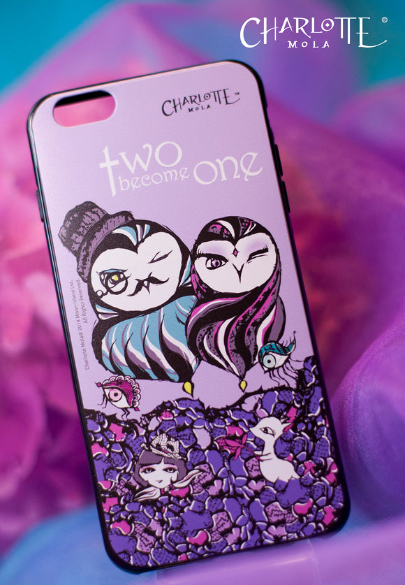 Phone Case - Owls in Pair 手機殼 - 貓頭鷹