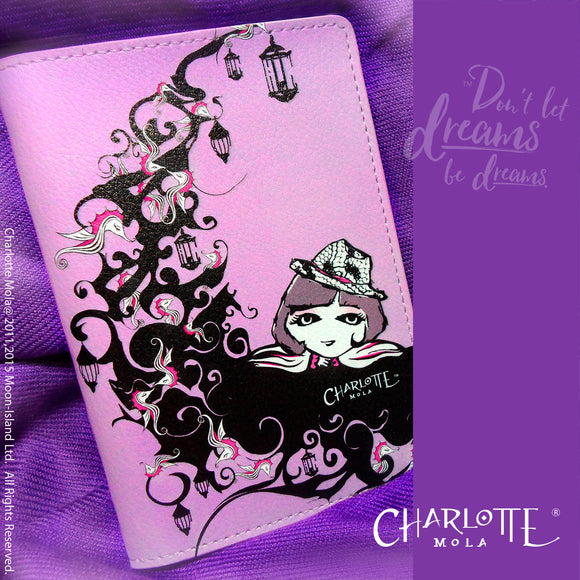 Passport Cover - Charlotte on the Moon 護照套 - 月亮島(莎樂)