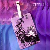 Luggage Tag - Charlotte on the Moon 行李牌 - 月亮島(莎樂)