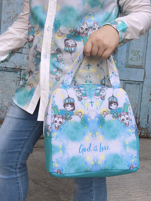 God's Love Boxy Hand Bag
