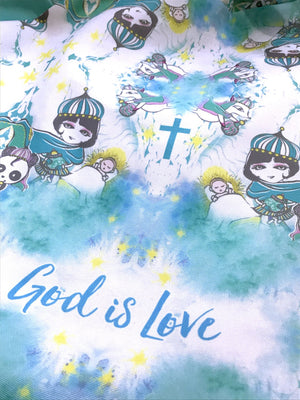 God's Love Giant Round Tote