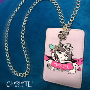 Card Holder Necklace - Charlotte and Moonkii  時尚頸鏈證件套 - 莎樂與夢奇