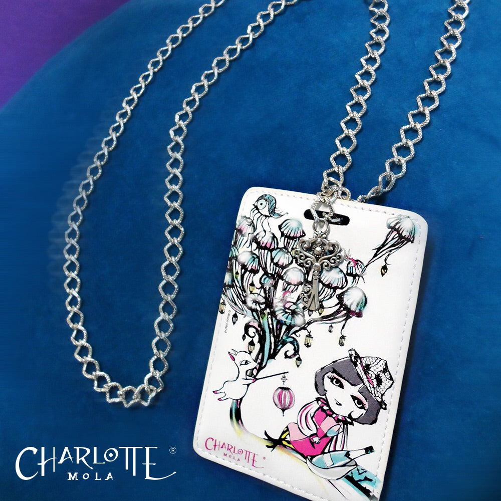 Card Holder Necklace - JellyFish 時尚頸鏈證件套  - 水母