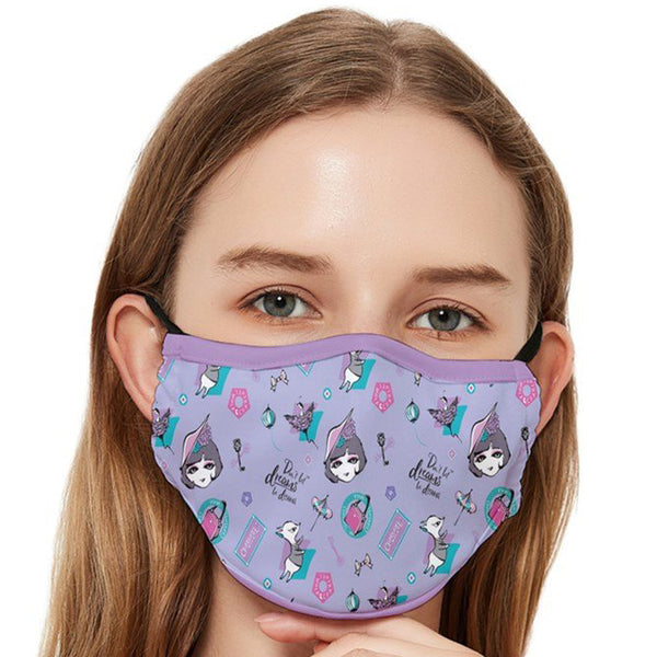 Classic Franch Fitted Cloth Face Mask (Adult)
