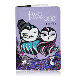 Passport Cover - Two Become One 護照套 - 二人成一體