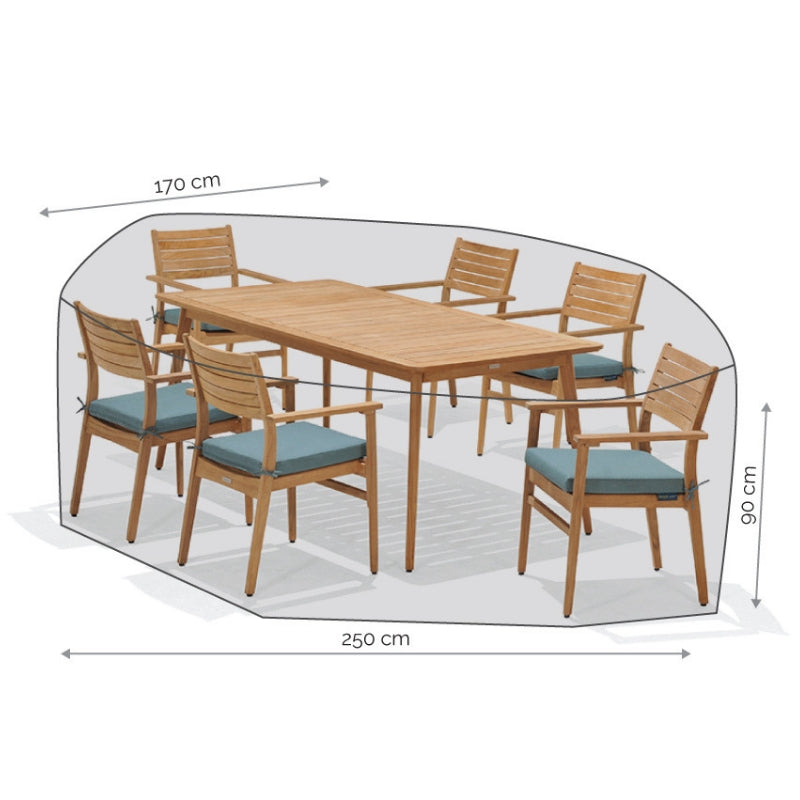 Furniture Cover: 4-6-Seater Dining Set