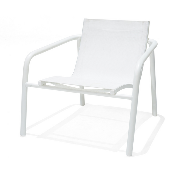 Skellig Lounger Chair - Matt White