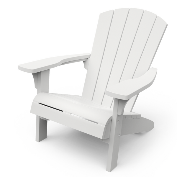 KETER: Troy Adirondack Chair - White | PREORDER