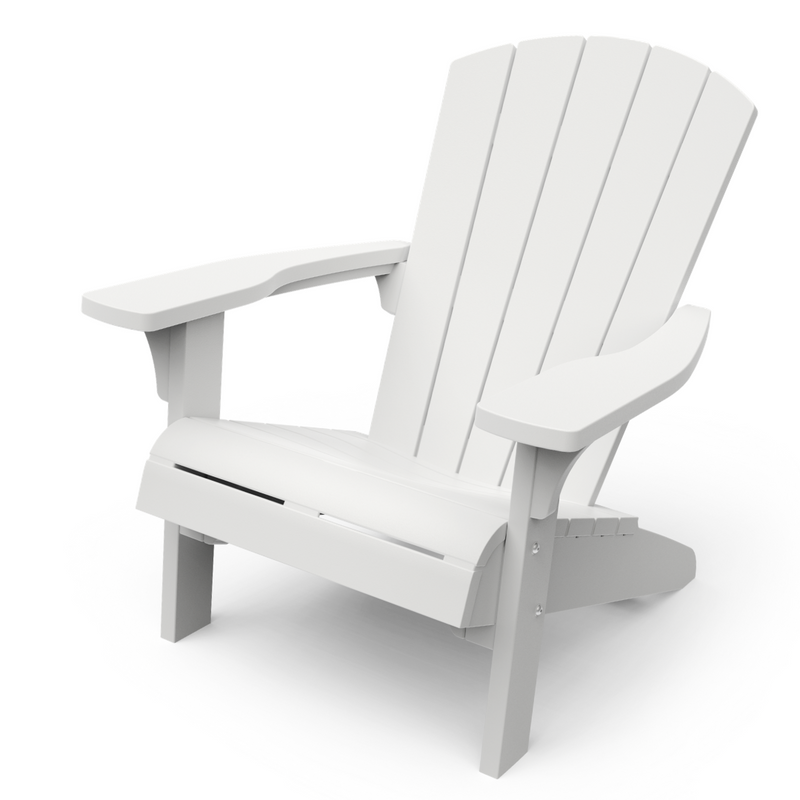 KETER: Troy Adirondack Chair - White