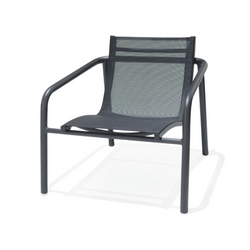Skellig Lounger Chair - Black