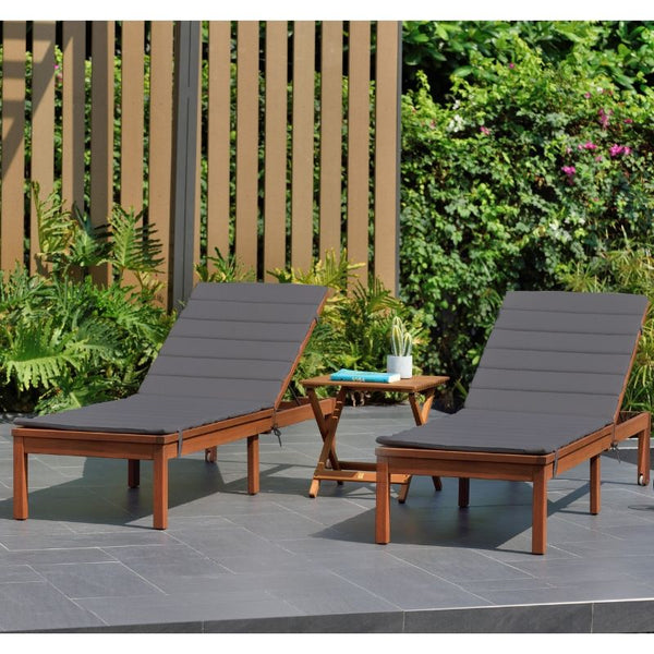 CAYMAN SUN LOUNGER SET - GREY