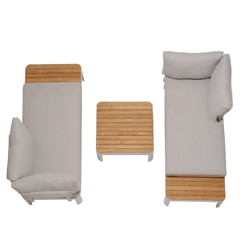 Portals Sofa Set - Light