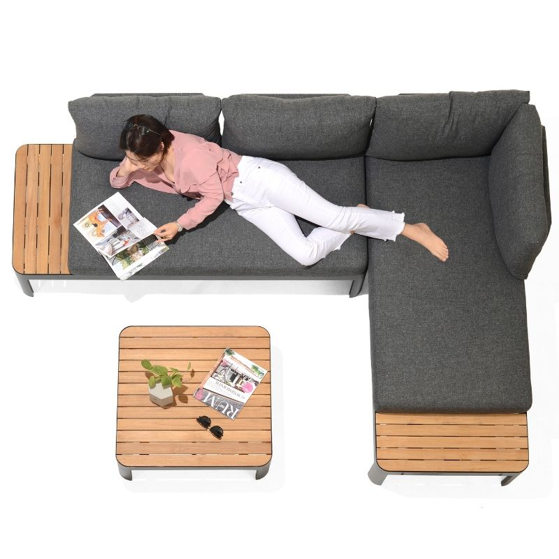 Portals Sofa Set - Dark