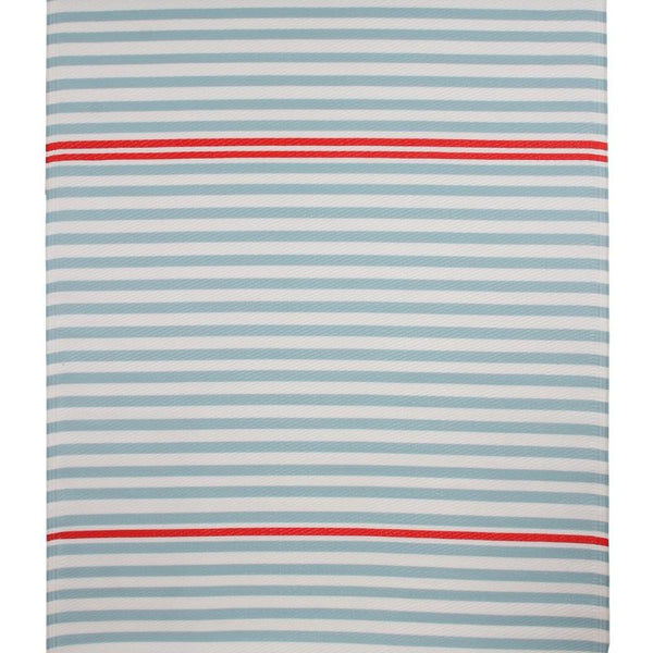 rug: mint green stripes