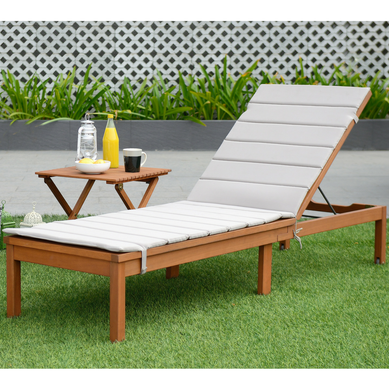 CAYMAN SUN LOUNGER SET - OFF-WHITE