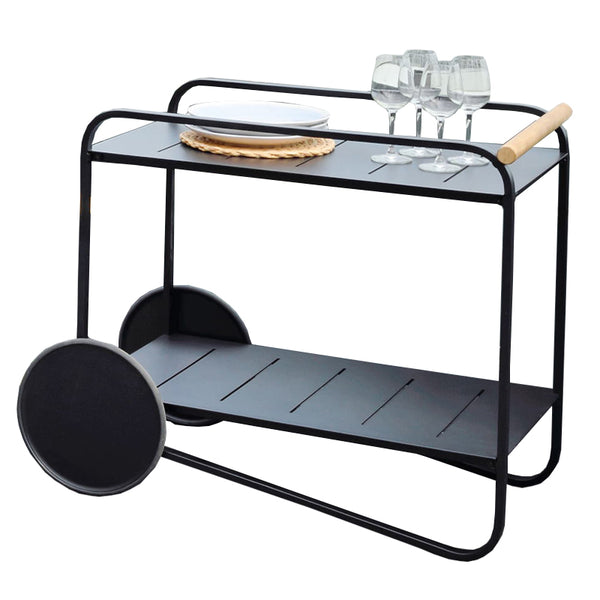 Portals Drinks Trolley - Dark