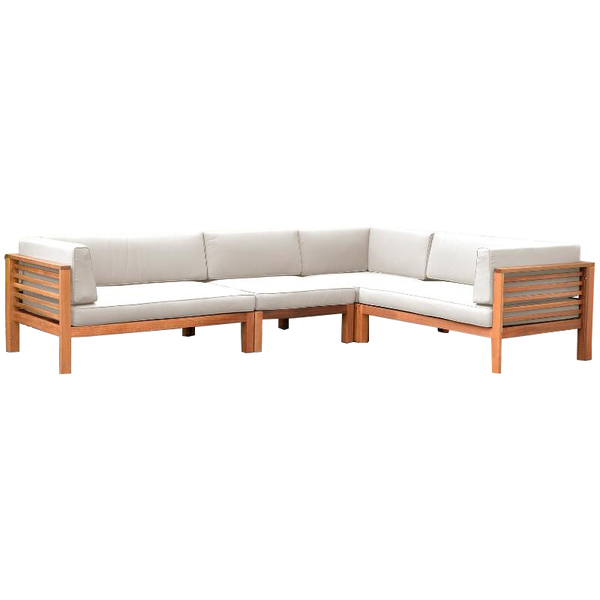 docklands corner sofa - off-white