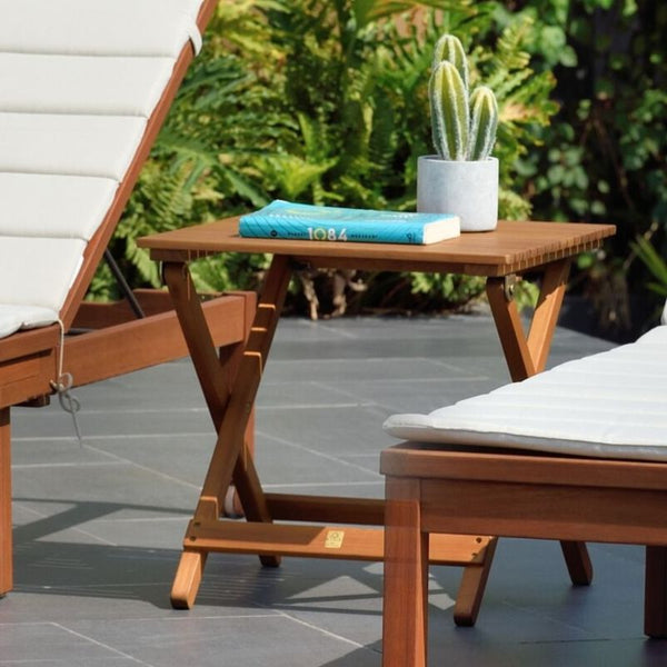 CAYMAN FOLDING SIDE TABLE