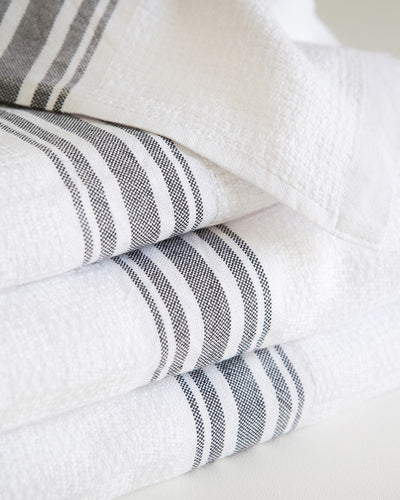 BATH TOWEL WILLOW WEAVE CHARCOAL