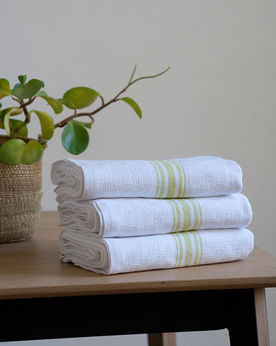 BATH TOWEL WILLOW WEAVE CITRONELLE