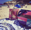 BEACH BAG - MONARCH