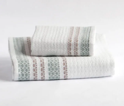 BEEHIVE ILIAD ORGANIC COTTON TOWEL
