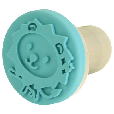 ECO WOOD BLUE STAMPS FOR MODELING CLAY-ANIMALS