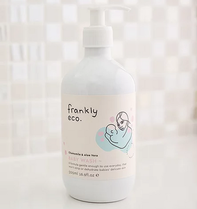 FRANKLY ECO BABY WASH 500 ML.