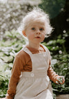 NATURAL LINEN PINAFORE