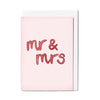 MR & MRS - CARD