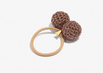 LUCY FOLK ROCK FORMATION BRONZE HAIR TIE