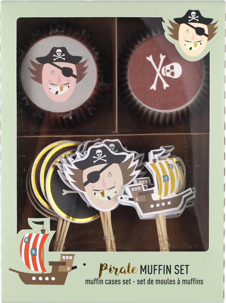 CUPCAKE SET PIRAT - Sausebrause Shop