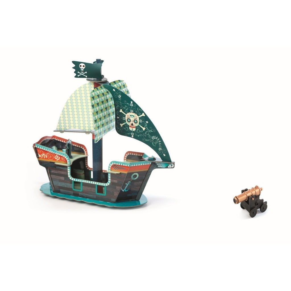 DJECO POP TO PLAY PIRATENSCHIFF 3D - Sausebrause Shop