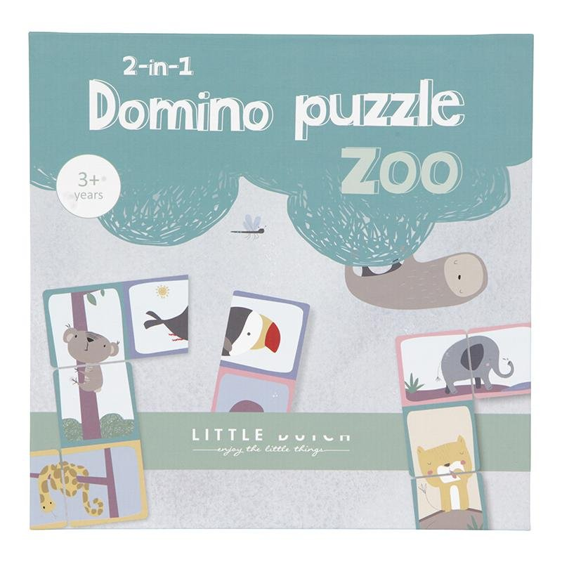 DOMINO PUZZLE ZOO 2 IN 1 - Sausebrause Shop