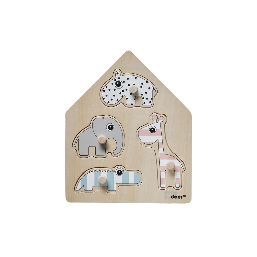DONE BY DEER STECKPUZZLE DEER FRIENDS - Sausebrause Shop