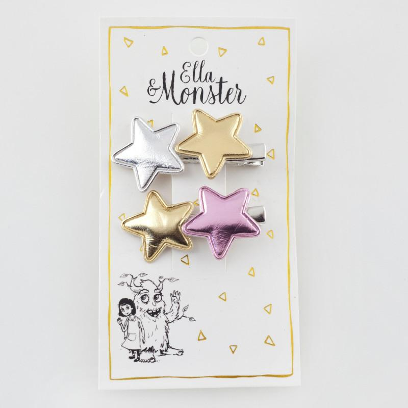 ELLA & MONSTER HAARSPANGE 'SHINY STAR' - Sausebrause Shop