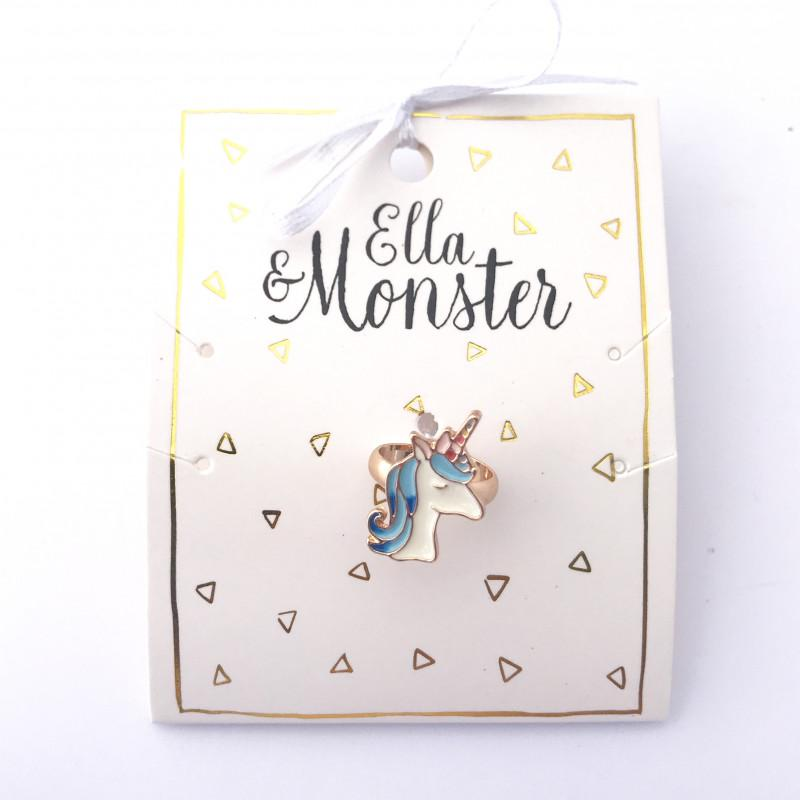 ELLA & MONSTER SWEET UNICORN RING - Sausebrause Shop
