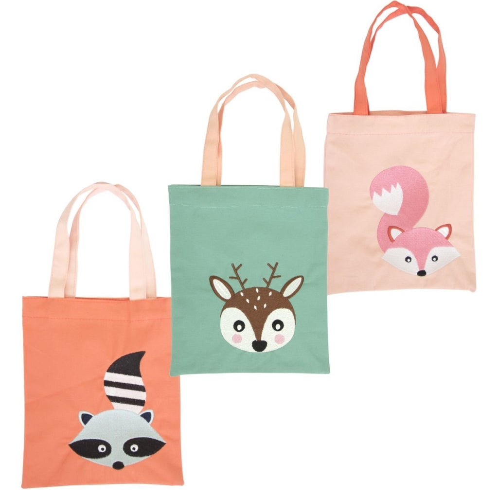 GLOBAL AFFAIRS STOFFTASCHE WOODLAND TIERE - Sausebrause Shop
