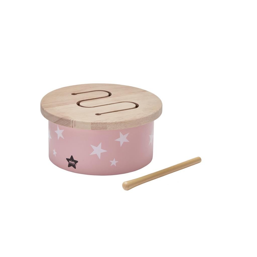 KIDS CONCEPT MINI TROMMEL ROSA - Sausebrause Shop