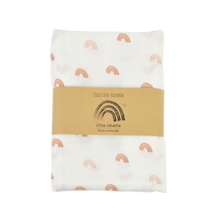 LITTLE CREVETTE SWADDLE RAINBOW - Sausebrause Shop
