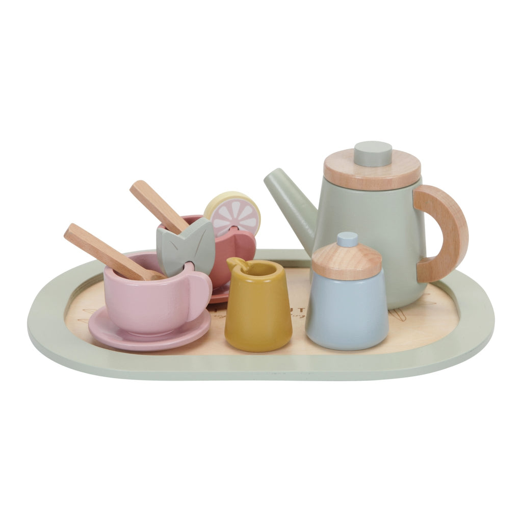 LITTLE DUTCH HOLZ TEE SET - Sausebrause Shop